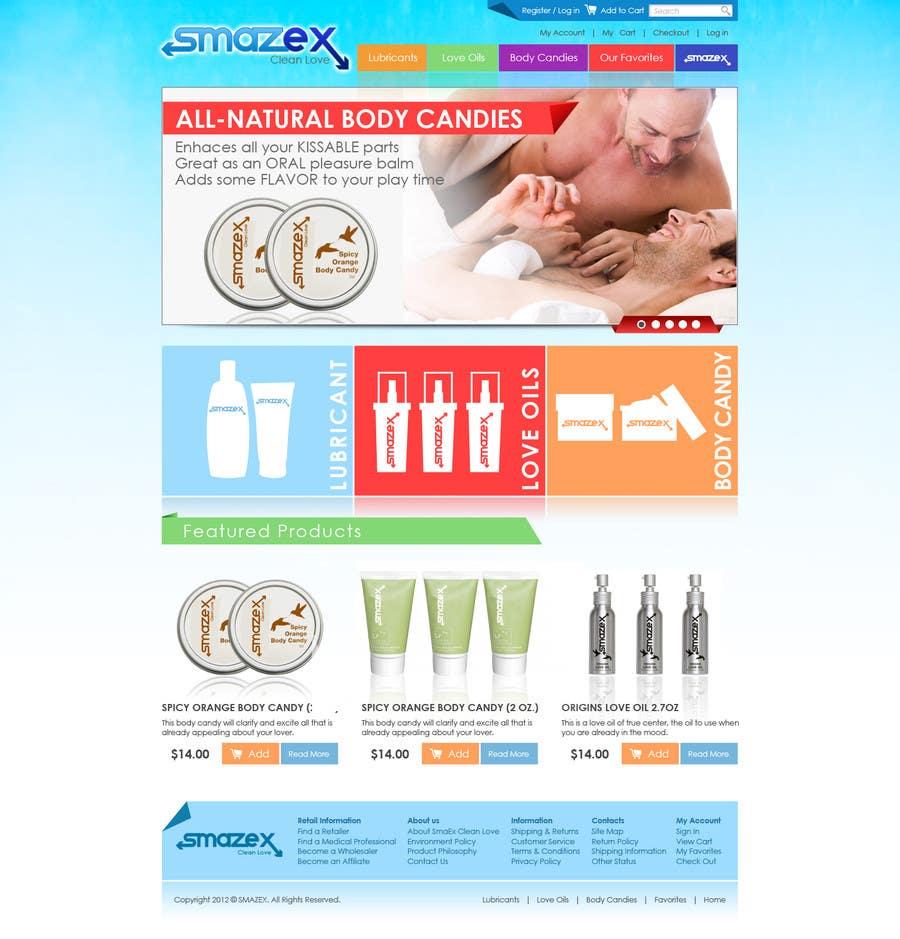Proposition n°                                        56                                      du concours                                         Website Design for Smazex.com