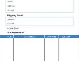 #9 untuk Design our invoice template oleh iqbalkhatri55