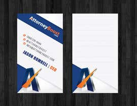 nº 232 pour Business Card Design for AttorneyBoost.com par thanhsugar86