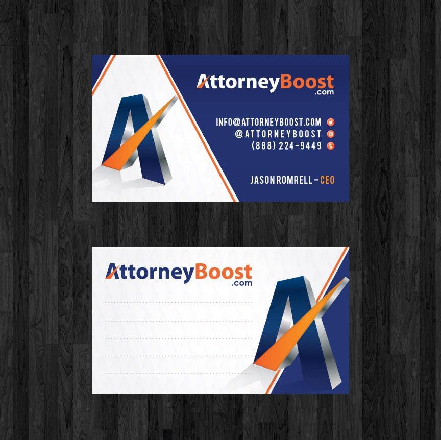 Konkurrenceindlæg #183 for Business Card Design for AttorneyBoost.com