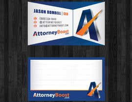 nº 200 pour Business Card Design for AttorneyBoost.com par thanhsugar86