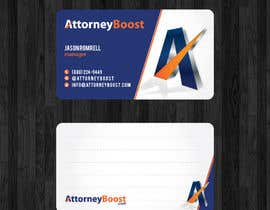 thanhsugar86 tarafından Business Card Design for AttorneyBoost.com için no 253