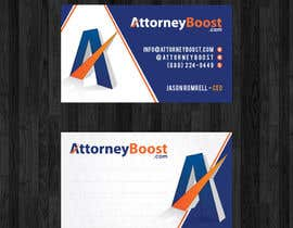 #160 for Business Card Design for AttorneyBoost.com af thanhsugar86