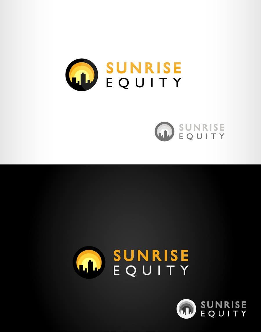 Penyertaan Peraduan #776 untuk Logo Design for Sunrise Equity