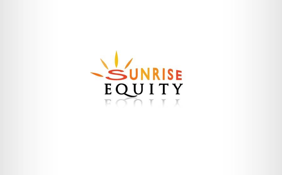 Конкурсная заявка №807 для Logo Design for Sunrise Equity