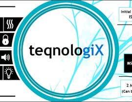 #14 cho Graphic Designs for Teqnologix.com bởi basilesposito