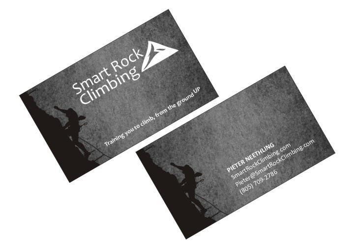 Entry 16 by effectivegraphic for design awesome rock climbing contest entry 16 for design awesome rock climbing business cards colourmoves