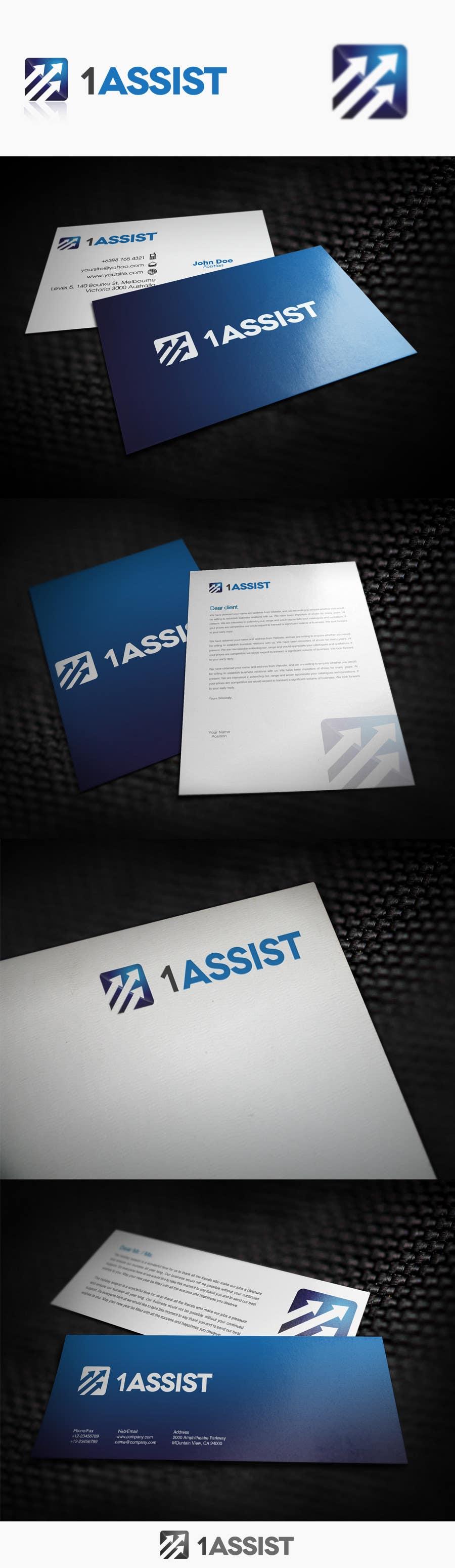 Penyertaan Peraduan #242 untuk Logo Design for 1 Assist