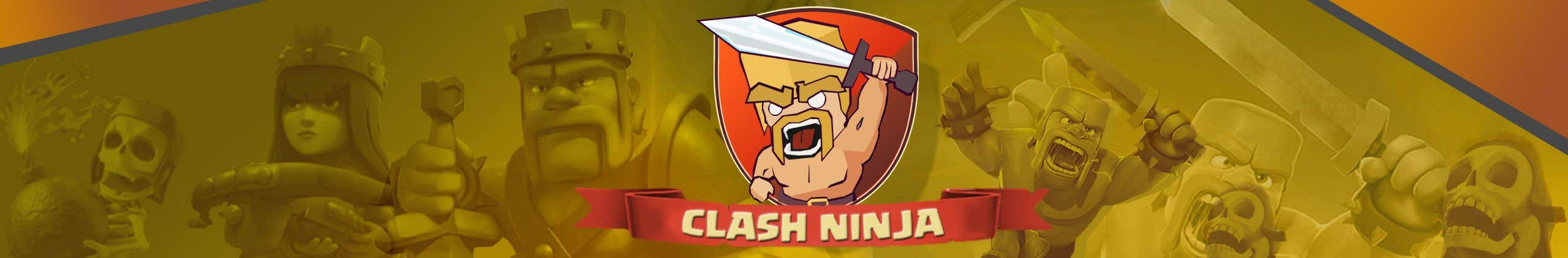 Design Youtube Channel Art -- Banner Clash of Clans