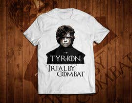 """#4 for Create a """"Tyrion -  Trial by combat"""" Illustration for a t-shirt af RedHotIceCold"""