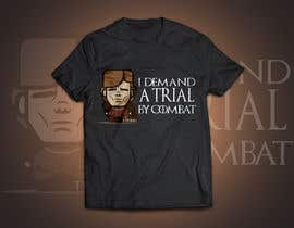 """#12 for Create a """"Tyrion -  Trial by combat"""" Illustration for a t-shirt af RedHotIceCold"""