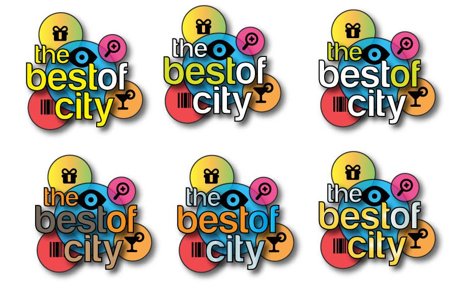 """Proposition n°                                        30                                      du concours                                         Logo Design for The Best of """"City"""""""