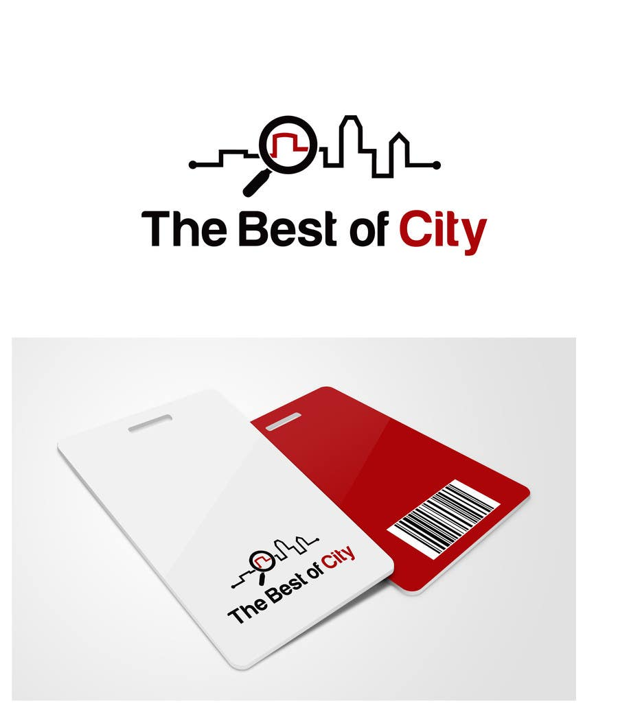 "Proposition n°                                        11                                      du concours                                         Logo Design for The Best of ""City"""