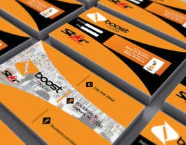 #22 para Boost Mobile Business Card por colourfullkite
