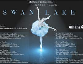 nº 34 pour Graphic Design for Swan Lake par foenlife