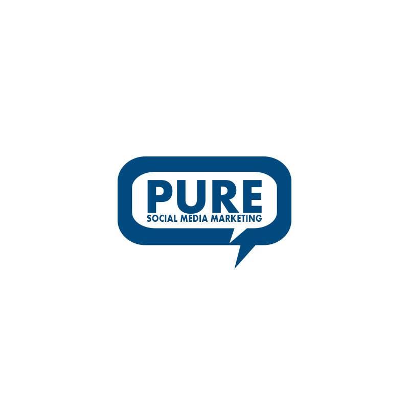Конкурсная заявка №96 для Logo Design for PURE Social Media Marketing