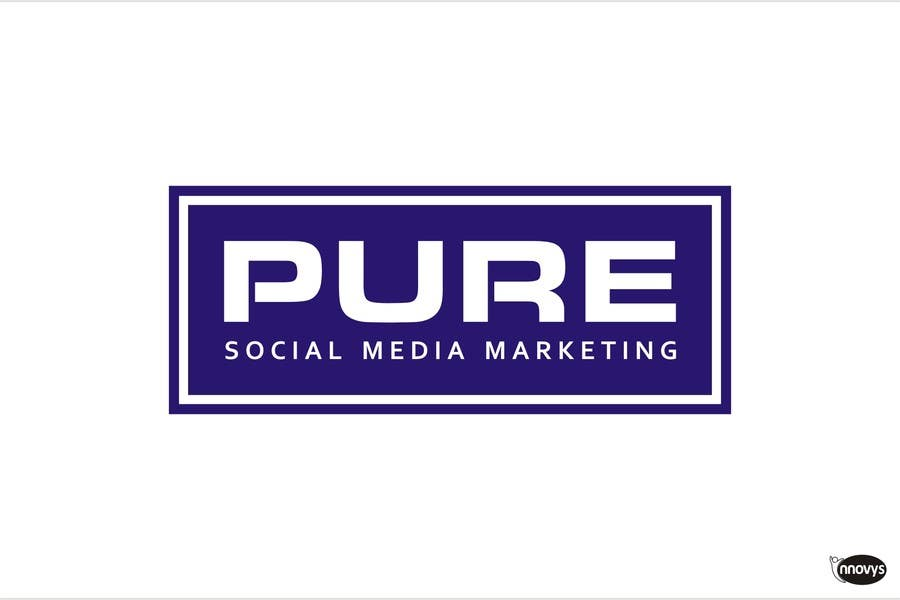 Конкурсная заявка №336 для Logo Design for PURE Social Media Marketing