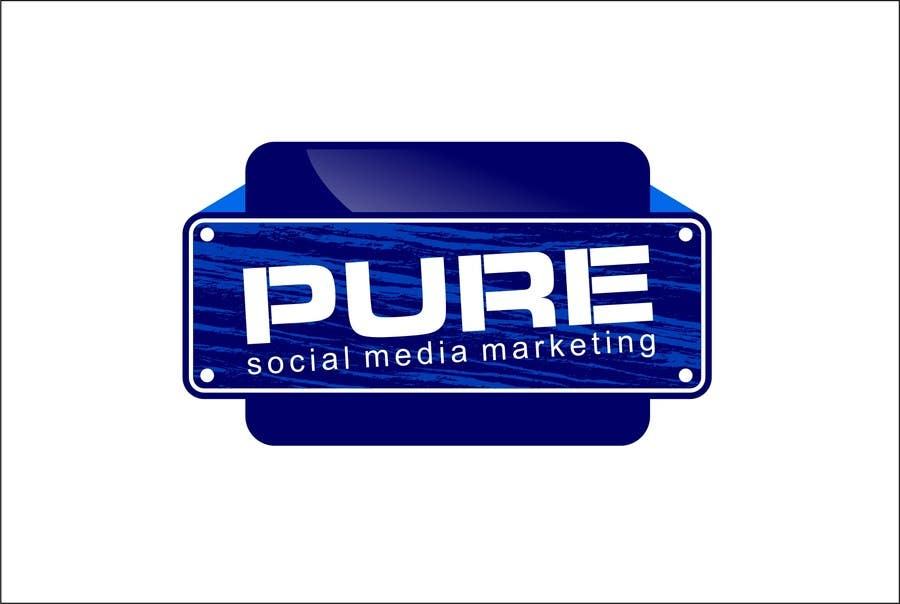 Конкурсная заявка №228 для Logo Design for PURE Social Media Marketing