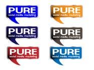 Graphic Design Конкурсная работа №65 для Logo Design for PURE Social Media Marketing