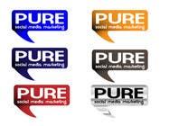 Graphic Design Конкурсная работа №64 для Logo Design for PURE Social Media Marketing