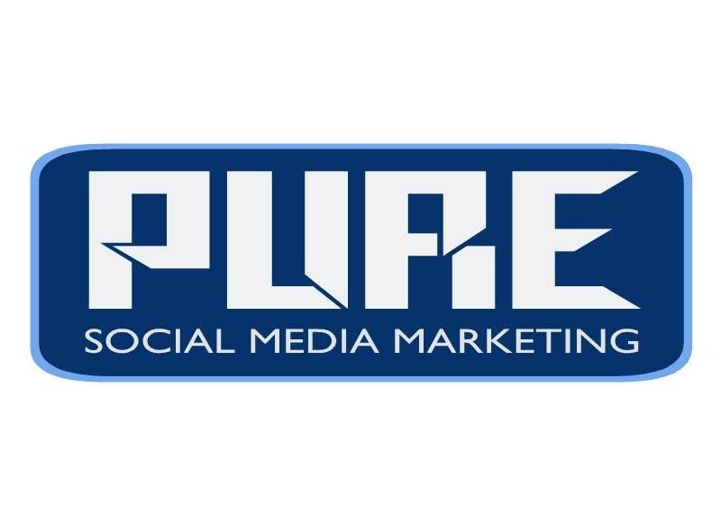 Конкурсная заявка №82 для Logo Design for PURE Social Media Marketing
