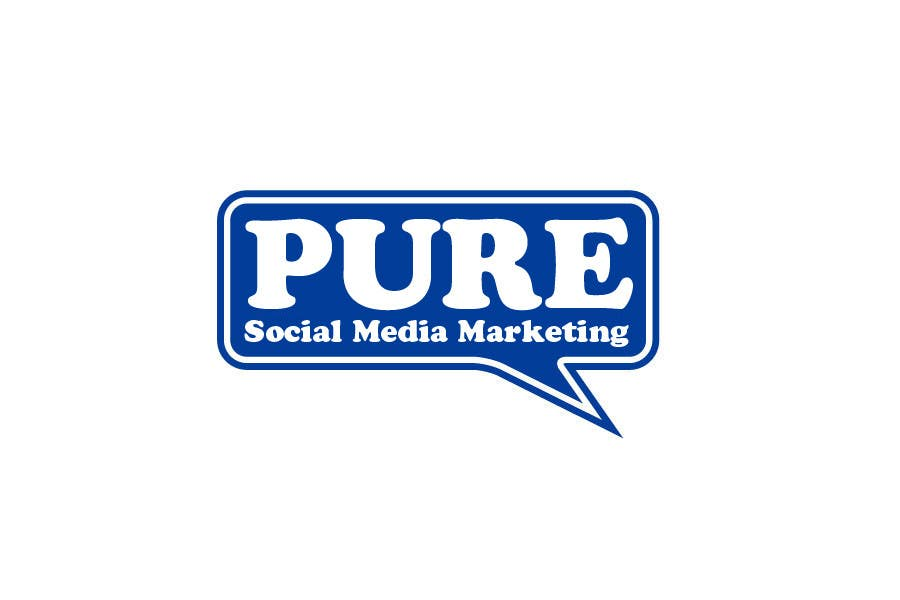 Конкурсная заявка №331 для Logo Design for PURE Social Media Marketing