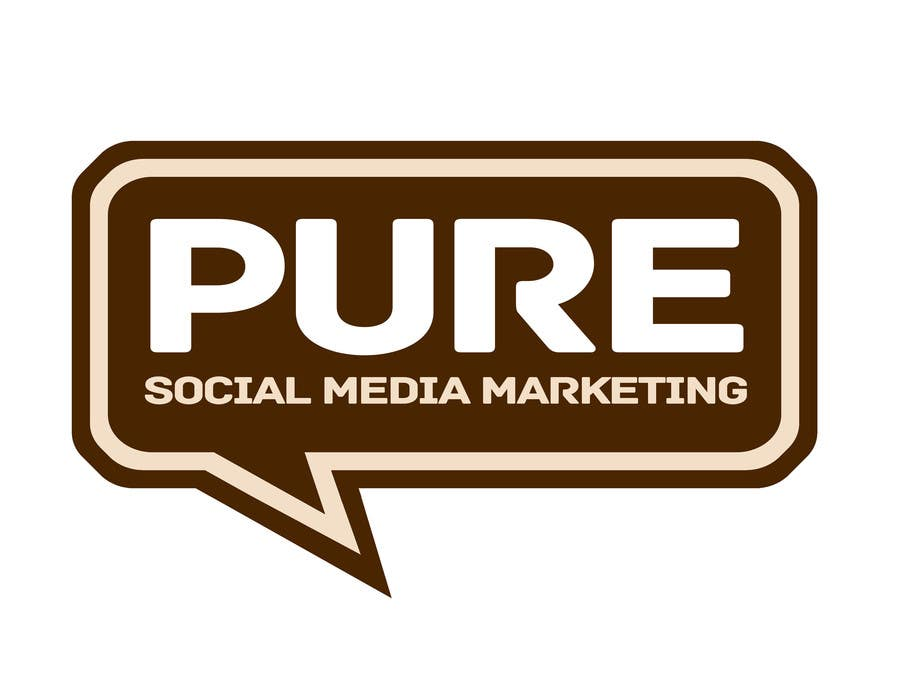 Bài tham dự cuộc thi #225 cho Logo Design for PURE Social Media Marketing