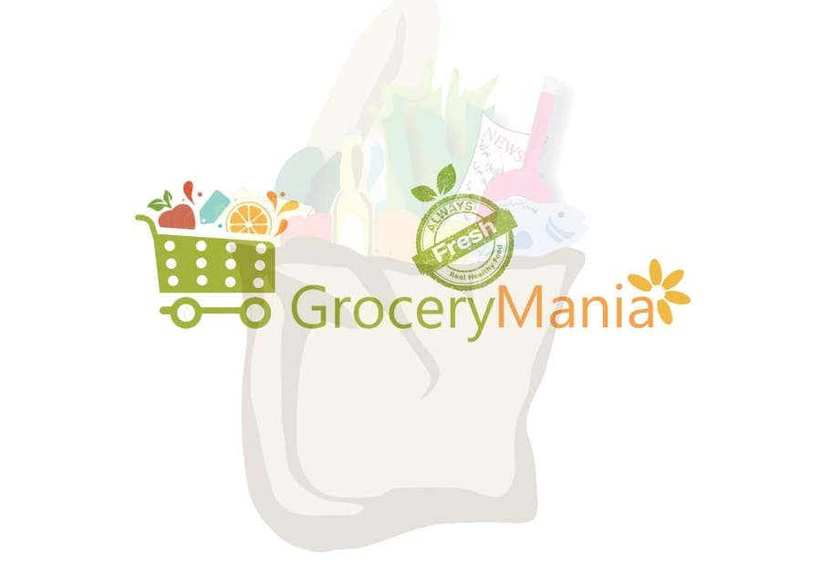 Contest Entry #                                        53                                      for                                         Logo for Online Grocery Store