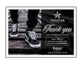 #16 for Design a Thank You Flyer A6 Size by creativesailor
