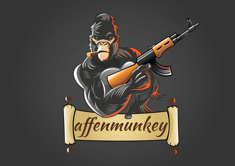 Proposition n°                                        27                                      du concours                                         Design a simple mascot / monkey / caricature