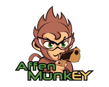 Proposition n°                                        33                                      du concours                                         Design a simple mascot / monkey / caricature