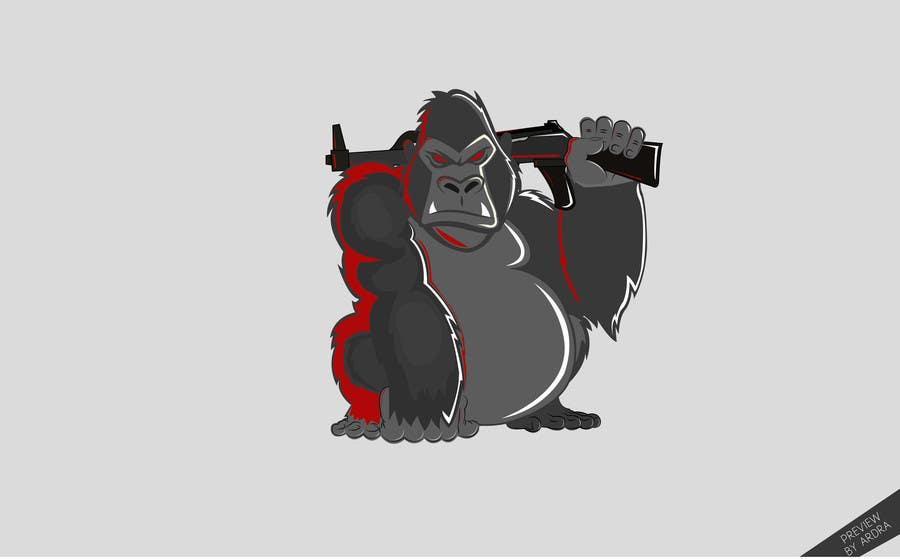 Proposition n°                                        23                                      du concours                                         Design a simple mascot / monkey / caricature