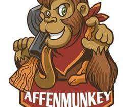 nº 16 pour Design a simple mascot / monkey / caricature par Bglcs11