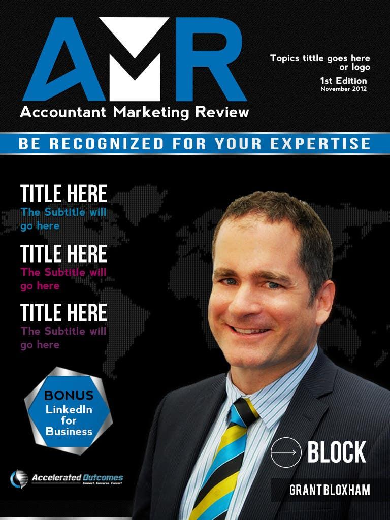 Penyertaan Peraduan #                                        32                                      untuk                                         Graphic Design for Accountant Marketing Review Magazine (Edit existing InDesign template)