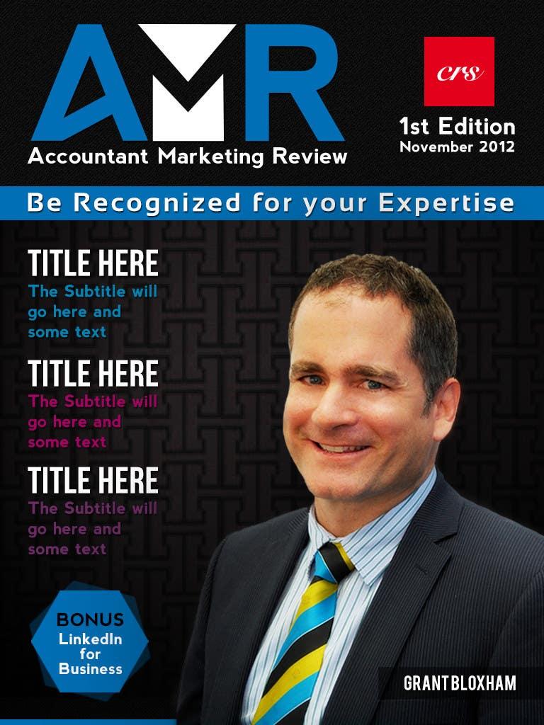 Penyertaan Peraduan #                                        26                                      untuk                                         Graphic Design for Accountant Marketing Review Magazine (Edit existing InDesign template)
