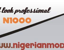 silverXblood tarafından Design a Banner for Nigerian Model için no 7