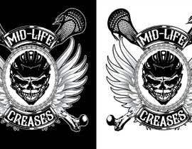 #141 para Motorcycle Gang/Harley Davidson style Logo for men's lacrosse team de Pibbles