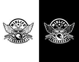 #129 para Motorcycle Gang/Harley Davidson style Logo for men's lacrosse team de eddesignswork