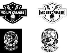#131 para Motorcycle Gang/Harley Davidson style Logo for men's lacrosse team de JesusPe