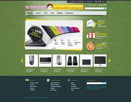 #51 dla Website Design for Blam Daddy Inc. przez Redlion25