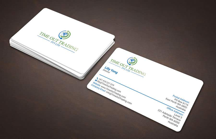 Entry #100 by noorpiash for Design some business cards with a logo ...