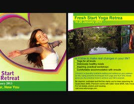 #47 cho Marketing postcard for Adore Yoga bởi greatsadek