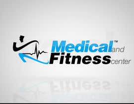 #99 para Logo Design for Medical and Fitness Centre por VoxelDesign