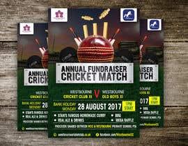 #26 pentru Fundraiser Poster Design for Print - Cricket! de către ssandaruwan84