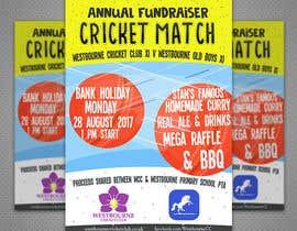 #31 pentru Fundraiser Poster Design for Print - Cricket! de către PaulaKenz