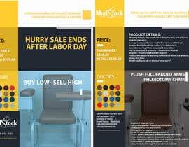 Sumaiahussam tarafından Design a Flyer to Sell a Medical Chair to Medical Suppliers için no 4