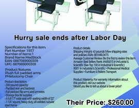 marinaivanovic tarafından Design a Flyer to Sell a Medical Chair to Medical Suppliers için no 12