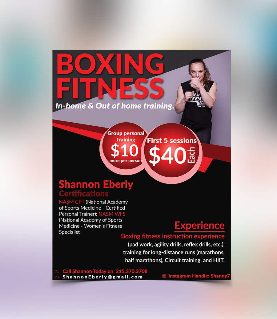 Entry 56 By Rhrvirus For Personal Trainer Personal Ad Freelancer