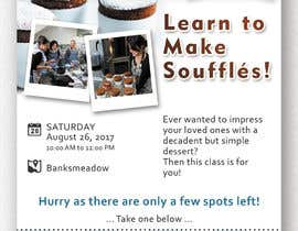 #24 cho Design a flyer for a Souffle Class bởi Ichwan94