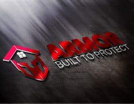 #383 per Logo Design for Armor Roofing & Exteriors da gunekoprasetyo34